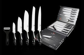 £9.99 instead of £129 (from Dructer) for a six-piece Berlinger Haus culinary set - choose black, red or grey and save 92%