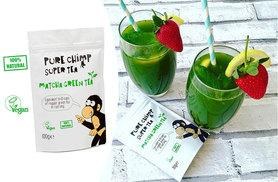£9 instead of £19.95 (from PureChimp) for a three month supply of matcha green tea - save 55%