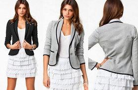 £9 instead of £34.99 (from EFMall) for a womans' blazer – save 74%