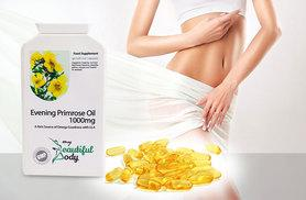 £6 instead of £26.99 (from Real Protein) for a three-month* supply of evening primrose oil capsules - save 78%