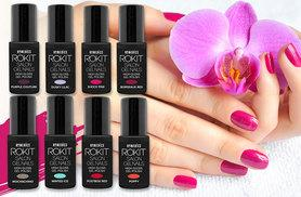 £7 instead of £14.99 for a bottle of Rokit gel nail polish - choose from eight colours and save 53%