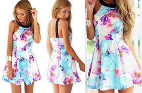 £8 instead of £32.99 (from EFMall) for a floral skater dress - save a sassy 76%