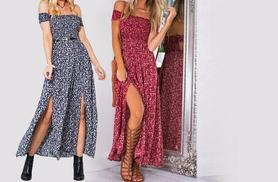 £12 instead of £39.99 (from EFMall) for a split maxi dress - save 70%
