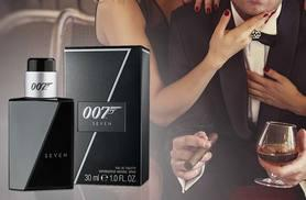 £12.99 instead of £26.00 for a 30ml bottle of James Bond 007 Seven EDT, £17.99 for a 50ml bottle - save up to 50%