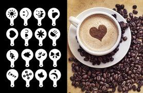 £3.99 instead of £9.99 (from Shop Sharks) for 16-piece coffee stencil set - save 60%