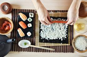 £29 instead of £59 for a sushi making class for one from Greenwich Pantry - save 51%