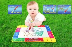 £3.99 instead of £24.99 (from Toy Meets World) for a small doodle mat, or £8.99 for a large doodle mat - save 84%