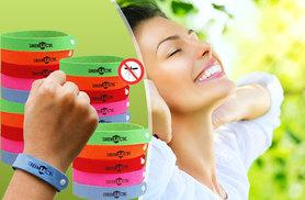 £3.99 instead of £7.73 (from Shop Sharks) for a pack of 10 mosquito repellent bands, £5.99 for a pack of 20 - save up to 48%