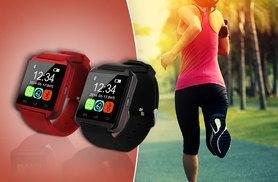 £14 instead of £69.99 (from EF Mall) for a Bluetooth smart watch - choose black, white or red and save 80%