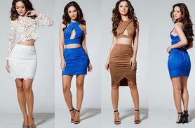 £14 instead of up to £57.00 (from Celebrity Doll) for a choice of three cropped co-ord sets - save up to 75%
