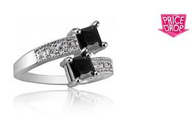 £18 instead of £279 (from Your Ideal Gift) for a black sapphire ring - save 94%