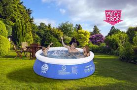 £22 instead of £54.00 (from Denny International) for a 8ft circle pool, or £28 for a 10ft circle pool - save up to 59%