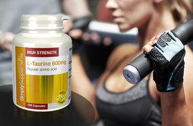 £9 instead of £16.98 (from Simply Supplements) for a four month supply* of L-Taurine workout supplement - save 47%