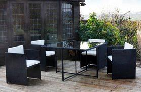 £229 instead of £669.01 (from Cheaper Online) for a four-seater rattan cube set - save 66%