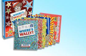 £12.99 instead of £35.01 (from Lowplex) for a Where's Wally? six-book collection and jigsaw set - get searching and save 63%