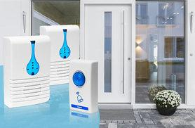 £4.99 instead of £29.99 (from Fusion Online) for two wireless doorbells - save up to 83%