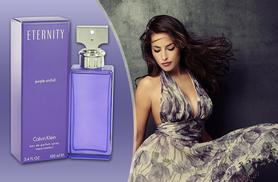£21 instead of £81.01 for a 100ml bottle of Calvin Klein Eternity Purple Orchid eau de parfum from Deals Direct - save 74%