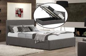 From £144 (from FTA Furnishing) for a fabric ottoman storage bed, from £239 to include a memory foam mattress - choose from three sizes, two colours and save up to 71%