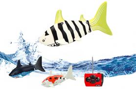 £9.99 instead of £29.99 for a remote controlled fish shark toy from Thirteen and Thirteen Limited - save 67%