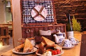 £15 for a picnic basket afternoon tea for two people, £18 to include a glass of Prosecco each at The Old Packet House, Ormskirk