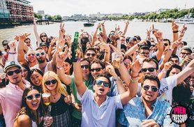 £12.50 instead of £25 for a ticket to the Notting Hill Carnival boat after party on 28th August with Pier Pressure - save 50%
