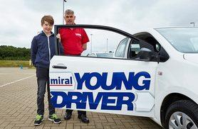 £34 for a 30-minute young driver experience at one of 44 UK locations from Buyagift