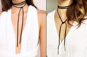 £3.99 instead of £22.99 (from I Luv Boutique) for a faux leather choker wrap necklace - save 83%