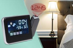 £8 instead of £23 (from Zoozio) for an LCD digital projector alarm clock and weather station with temperature and humidity displays - save 65%