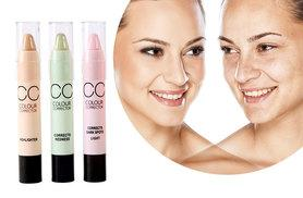 £10 instead of £29.97 (from Get Gorgeous) for three colour corrector sticks in pink, mint and yellow - save 67%