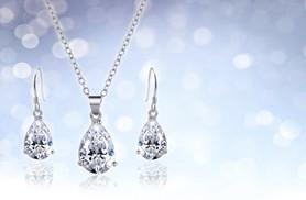 £9 instead of £55 (from My Boutique Store) for a tear drop necklace and earrings duo set - save 84%