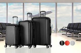 £65 instead of £167.99 (from Deals Direct) for a three-piece luggage set - save 61%
