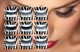 £5 instead of £10 (from DVA Beautique) for a pair of Glama faux lashes, £8 to include lash glue – choose from 9 styles and save up to 50%