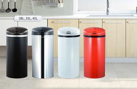 £17.99 (from Chic Me Out) for a 28-litre hands-free auto sensor bin, £23.99 for a 35-litre bin, or £29.99 for a 45-litre bin - choose from four colours and save up to 81%