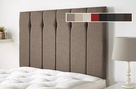 From £59.99 (from Cheap Mattresses) for a luxury high thread linen headboard - choose from eight colours and save up to 82%