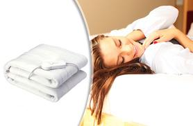 £9.99 instead of £39.99 (from Groundlevel.co.uk) for a single electric blanket, £13.99 for a double, £17.99 for king size - save up to 75%