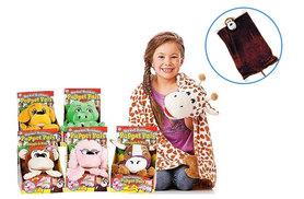 £8 instead of £34.99 (from Shopperheads) for a kid's puppet pal blanket - choose from six designs and save 77%