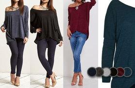 £14 (from Be Jealous) for an off the shoulder jumper - choose from six colours and save up to 67%
