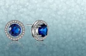 £18 instead of £299 (from Your Ideal Gift) for a pair of blue sapphire earrings - sparkle all summer and save 94%