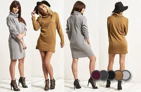£12 instead of from £24.99 (from Be Jealous) for an oversized cowl neck knitted dress - save up to 52%