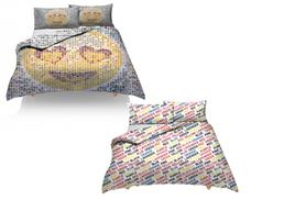 £14 for a choice of quirky duvet set designs from Discover Direct Ltd - save up to 46%