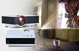 £49.99 instead of £199.99 (from TLD Retail) for a 1080p mini HD home cinema projector - save 75%