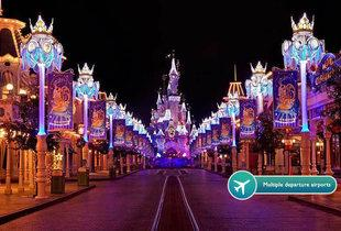 From £159pp (from Tour Center) for a two-night Disneyland® Paris Christmas-themed stay including flights and one-day two park entry - save up to 26%