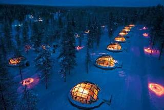 From £499pp (from Deluxe Breaks) for a two-night Finland break with a glass igloo stay and flights, from £599pp for 3 nights, or pay just £350pp deposit - save up to 33%