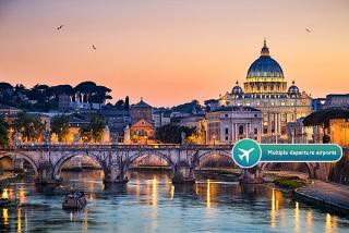 From £69pp (from Clearsky Holidays) for a two-night 4* Rome break including flights, or a three-night break from £119pp - save up to 53%