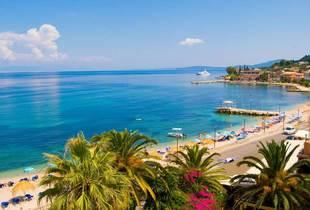 From £199pp (from Clearsky Holidays) for a 3nt all-inclusive 4* Corfu escape with flights, 4nts from £259pp, 5nts from £309pp, 7nts from £329pp