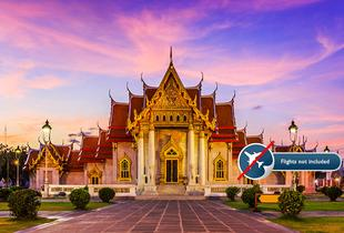 £429pp (from Destination Services) for a seven-night 'Treasures of Thailand' tour including breakfast, English speaking guides and transfers
