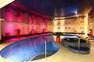 From £119 (at Best Western Heronston Hotel and Spa) for a Bridgend spa break for two people with breakfast, dinner, a treatment each and late check-out - save up to 37%