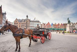 £99pp for a day trip via Eurostar in Bruges with chocolate tour, from £159pp to Bruges for a 4* overnight stay or from £209pp for a 4* two-night stay - save up to 35%