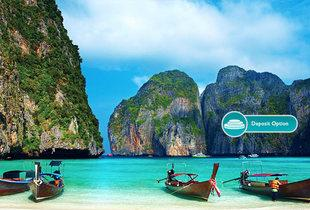 From £1199pp (from THG Holidays) for a 12-night Thailand island hopping trip including flights, private transfers and ferry, or pay a £500pp deposit - save up to 27%
