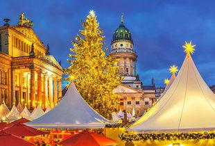 From £69pp (from Weekender Breaks) for a two-night Berlin break including flights, from £99pp for three nights - visit the Christmas markets and save up to 40%